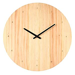 Moderno reloj de pared de