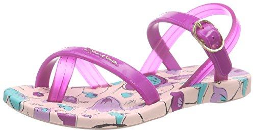 IpanemaFashion SD III Kids - Infradito Bambina , Multicolore (Mehrfarbig (pink lilac 8525)), 34/35