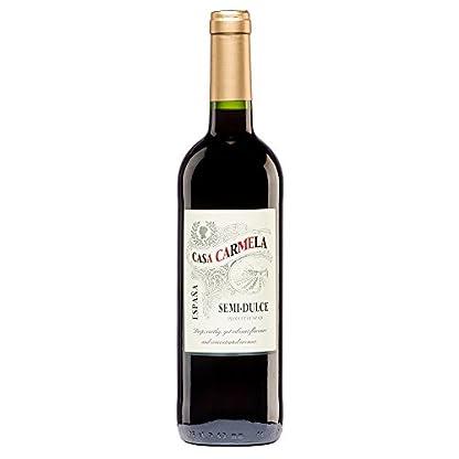 Rotwein-Casa-Carmela-Semi-Dulce-Tinto-2017-aus-SpanienYecla