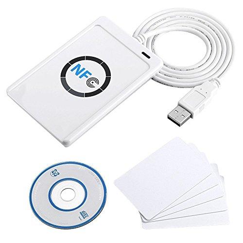Luxtech NFC ACR122U Kontaktlose Smart Reader & Writer USB + SDK + Papier-RF NFC (ISO/IEC 18092)