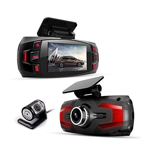 SDRFSWE Dual Lens Auto DVR Dash Cam
