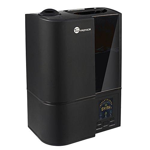 Luftbefeuchter Schlafzimmer TaoTronics Ultraschall Befeuchter (40-50㎡) 4L gegen Trocknung wegen der Heizung 30W Kühler-Sprühnebel, LED-Anzeige
