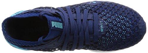 Puma Damen Ignite Netfit Outdoor Fitnessschuhe Blau (Blue Depths-Nrgy Turquoise)