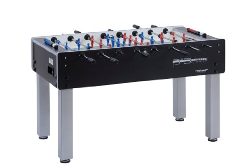 Garlando Unisex's Pro Champion Football Table, Black, One Size