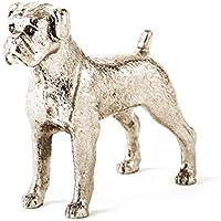 Boxer Made in UK, Collezione Statuetta Artistici Stile Cani