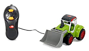 Dickie  de Juguete 203733000-Farm Tractor con Pala, Shovel Tractor