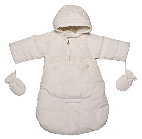 Oceankids Tuta da neve imbottita avvolgente, beige da bambino / neonato 3-6 Mesi