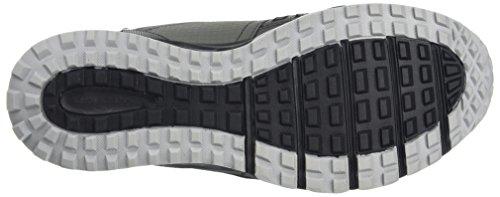 Skechers Escape Plan, Chaussures de Running Homme Gris (Charcoal/black)