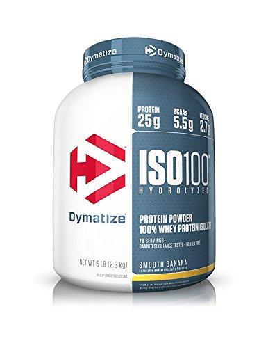 Protéines de petit-lait hydrolisés Dymatize Nutrition 100% isolées
