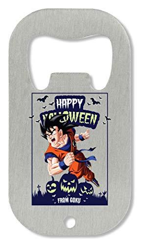 OpenWorld Happy Halloween from Goku Dragon Ball Anime DBZ Jack O Lantern Flaschenöffner