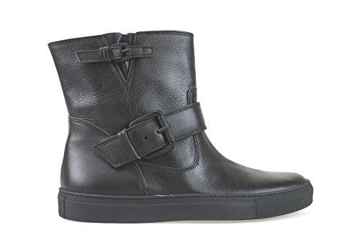 scarpe donna L'AUTRE CHOSE stivaletti nero pelle AK829 (38 EU)