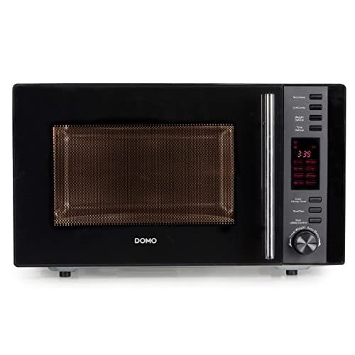 41qHmb6SD3L. SS500  - Domo Microwave Oven and Grill, 25 Litre, Black
