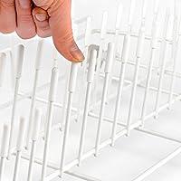Las Tapas para Estante de Lavavajillas Originales de Smith (100, Blanco, PVC)