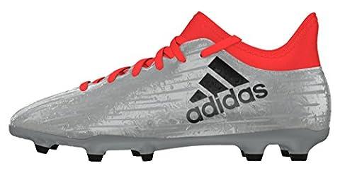 adidas Jungen X 16.3 FG J Fußballschuhe, Plata (Plamet / Negbas / Rojsol), 36 EU