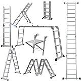 Best Ladders - 14-in-1 4x4 Aluminium Multi Purpose Folding Extension Ladder Review