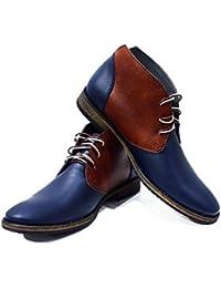 Para esBotas Italianas Amazon Zapatos Cordones Hombre WEHD92I
