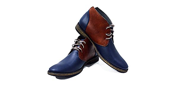 PeppeShoes Modello Falcone Handmade Italiennes Cuir pour