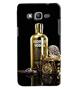 Blue Throat Absolut Vodka Lovers Printed Designer Back Cover For Samsung Galaxy Grand Prime