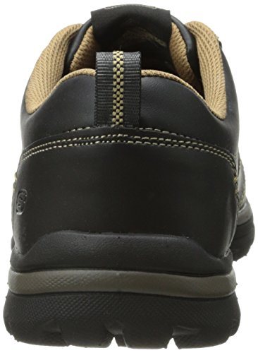Skechers (SKEES) Superior-Levoy, Chaussures de Tennis Homme Noir (Black Tan)