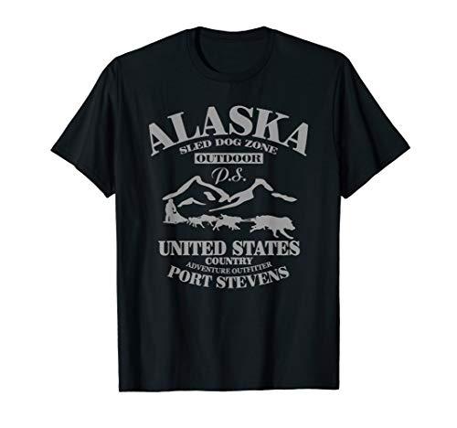 Alaska T-Shirt, Husky, Schlittenhunde - Alaska-kinder-t-shirt