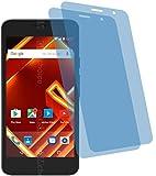 4ProTec 2X Crystal Clear klar Schutzfolie für Archos Access 50 4G Bildschirmschutzfolie Displayschutzfolie Schutzhülle Bildschirmschutz Bildschirmfolie Folie