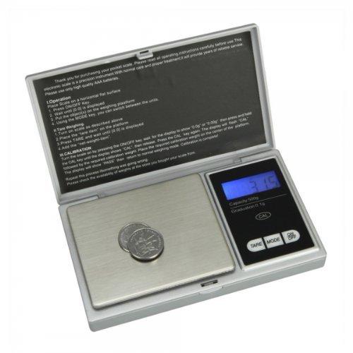 Preisvergleich Produktbild Generic 500g/0,01° Pocket Jewelry Gold Weed Digitalwaage Silber g/oz/ozt/dwt/ct/tl P258
