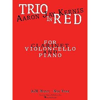 Trio in Red: Clarinet (A & E-Flat), Cello, and Piano