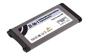 MMRW-E34 - Kartenadapter ( Memory Stick, MS PRO, MMC, SD, xD, MMCplus, SDHC ) - ExpressCard/34