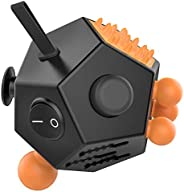 Fidget Dodecagon 12 Side Fidget cube Relieves Stress and Anxiety Anti Depression cube
