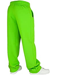 TB078 'Urban Classics' Loose-Fit Sweatpants (Various Colours), Größe:L;Farbe:limegreen