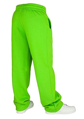 Urban Classics Loose-Fit Pantalon Sweat Limegreen Vert - Green - Limegreen