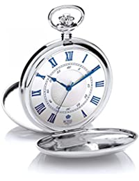 Royal London 90050-01 - Reloj de Bolsillo, Correa de Acero Inoxidable