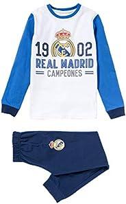Pijama Niño Real Madrid 1902 Campeones Manga Larga Fino