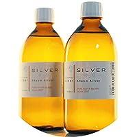 PureSilverH2O 1000ml kolloidales Silber (2X 500ml / 50ppm) - Reinheit & Qualität seit 2012 preisvergleich bei billige-tabletten.eu