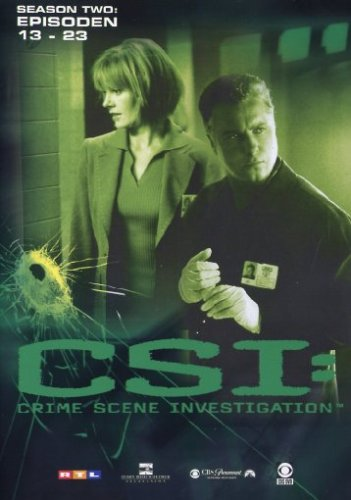 CSI: Crime Scene Investigation - Season 2.2 (Amaray) [3 DVDs]
