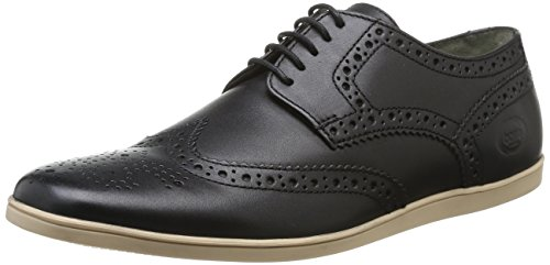 Barker Creek Publishing, Inc. - Pn01011, scarpe oxford  da uomo, nero(noir (waxy black/white sole)), 46