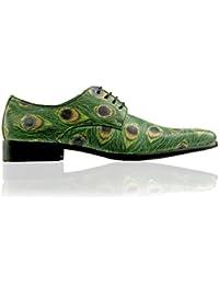 839304987af4 Lureaux Peacock Herrenschuhe Herren Uniform Berufsschuhe Elegant  Businessschuhe Lederschuhe Hochzeit Schuhe für Männer Oxford Derby