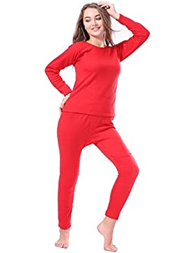 Womens Thermal 2 Pc Long John Underwear Set Top and Bottom?