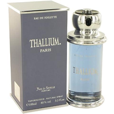 Thallium by Parfums Jacques Evard Men's Eau De Toilette Spray 3.3 oz - 100% Authentic by Parfums Jacques Evard