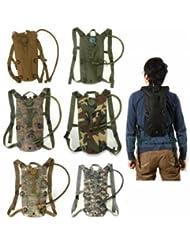 Bheema Survival Hiking Climbing 3L Hydration System Water Bag Pouch Bladder