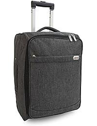 Equipaje de mano cabina bolsa carrito con ruedas bolsas de vuelo Suit Case para Ryanair, Easyjet British Airways, Vírgenes, Flybe, Jet 2y muchos otros compañías aéreas o viaje