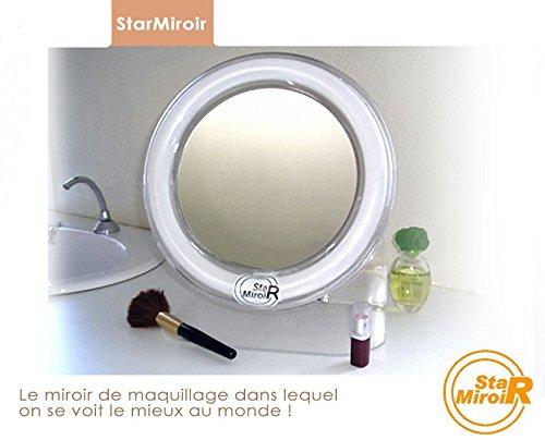 StarMiroir - Le Miroir Grossissant Lumineux Le Plus Performant