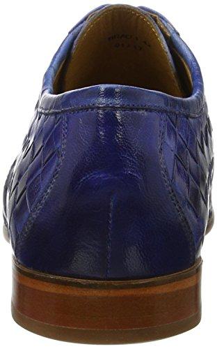 Melvin & Hamiltonbrad 1 - Chaussures À Lacets Blau Pour Homme (tissé Bleu Chine Ls)
