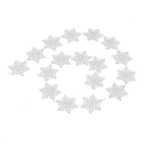 Schneeflocke Ornamente Weinachts Dekoration, für Winter Wonderland DIY Partydekorationen Winter Hochzeit Essentials ()