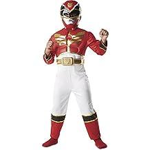 Power Rangers - Disfraz Deluxe, 5-6 años (Rubies 886669-M)
