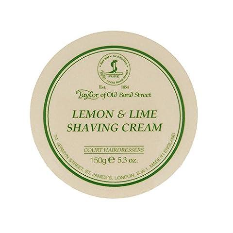 Taylors of Old Bond Street Rasiercreme - 150g (Zitrone und Limette)