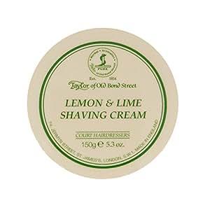 Taylor of Old Bond Street Crème à Raser Citron et Citron Vert 150 g