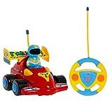 TOYEN RC Cartoon Rennauto Action Figur Radio Control Spielzeug mit Musik Kleinkinder und Kinder
