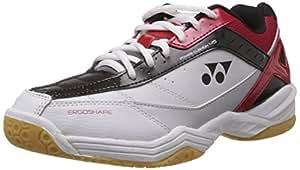Yonex Power Cushion SHB 45EX Badminton Shoes, UK 11 (Red)