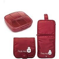 First Aid Kit Bag Und Kleine Pillendose - Notfall - Decke Für Haus, Büro, Arbeitsplatz, Reisen preisvergleich bei billige-tabletten.eu